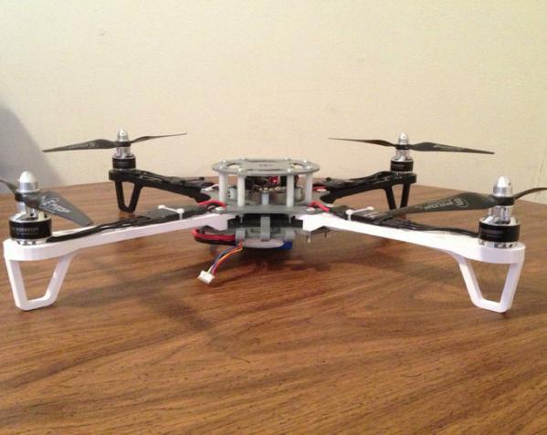 穿越火线号 fpv四轴飞行器 3D模型  图4