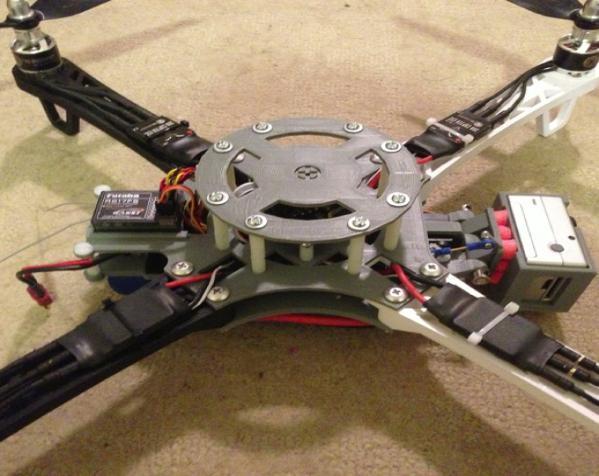 穿越火线号 fpv四轴飞行器 3D模型  图6
