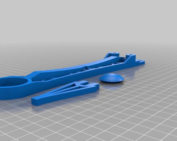 穿越火线号 fpv四轴飞行器 3D模型  图12