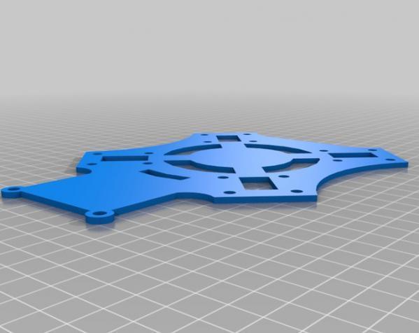 穿越火线号 fpv四轴飞行器 3D模型  图15