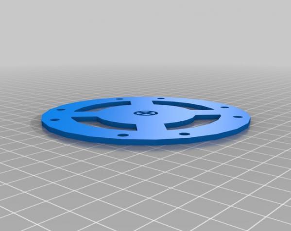 穿越火线号 fpv四轴飞行器 3D模型  图17