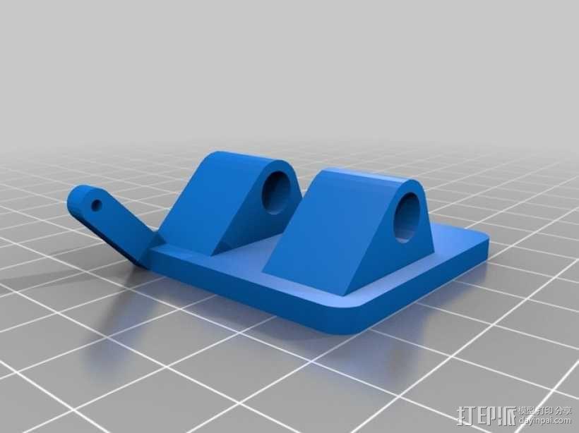 穿越火线号 fpv四轴飞行器 3D模型  图20