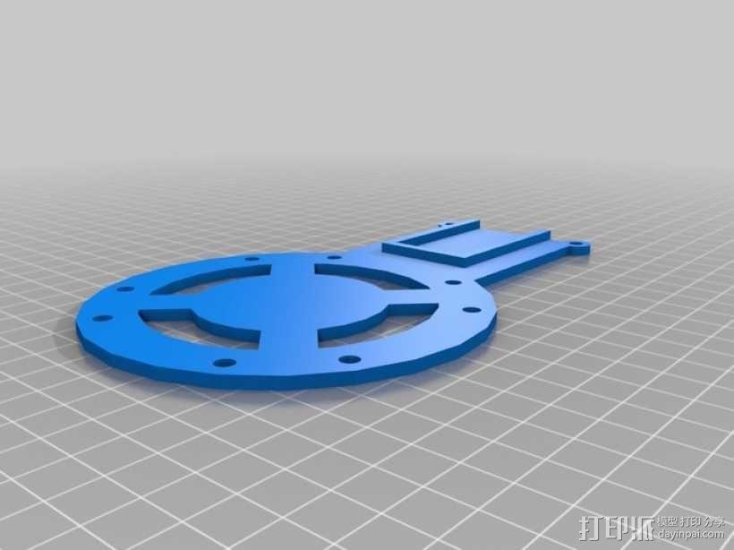 穿越火线号 fpv四轴飞行器 3D模型  图21