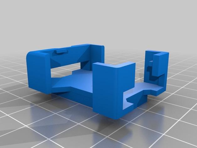 Atmega328 保护壳 3D模型  图2