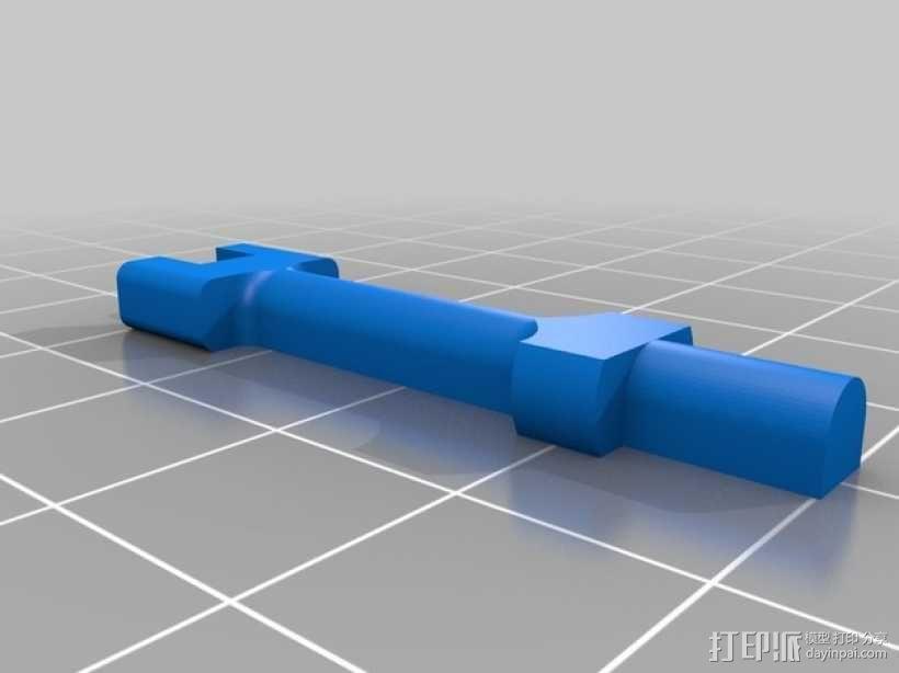 水下喷射驱动 3D模型  图2