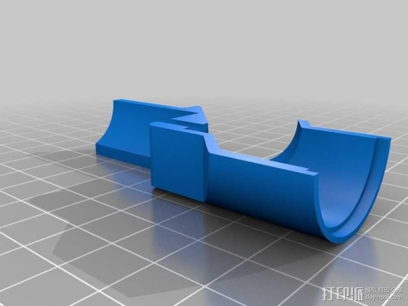 水下喷射驱动 3D模型  图3