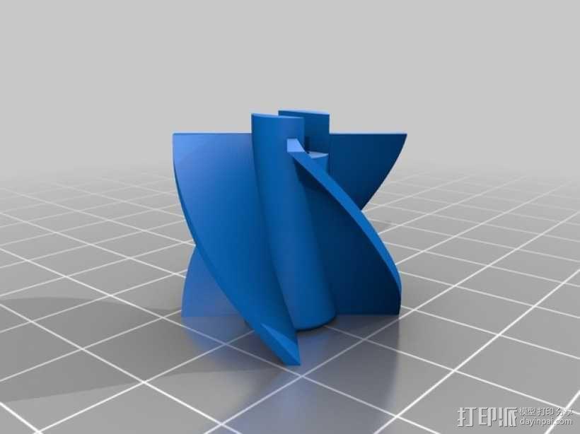 水下喷射驱动 3D模型  图4