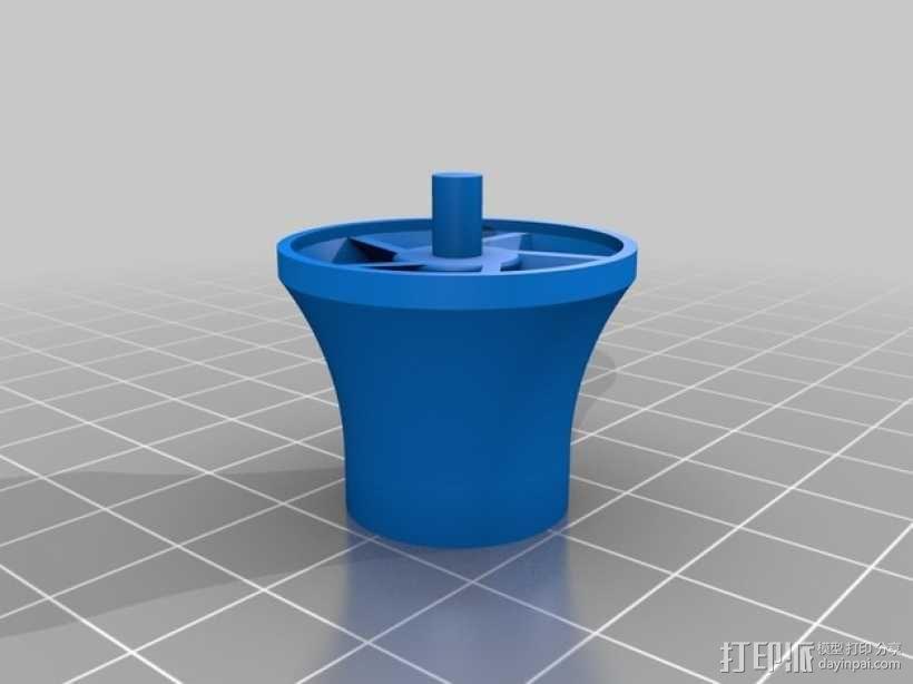 水下喷射驱动 3D模型  图6