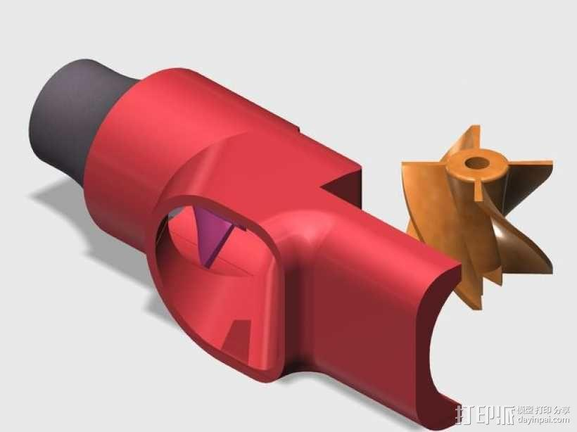 水下喷射驱动 3D模型  图8