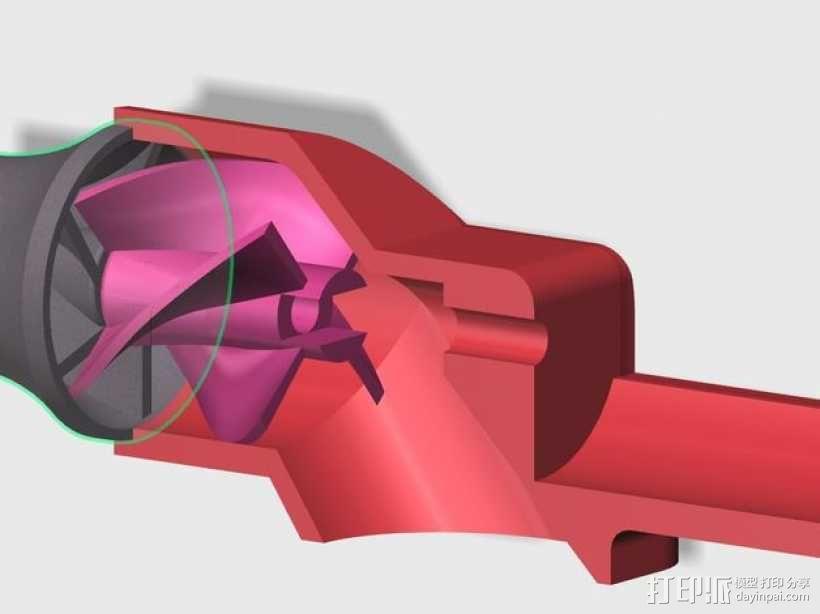 水下喷射驱动 3D模型  图7