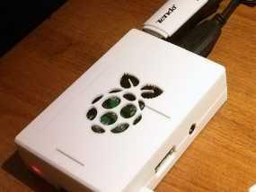 树莓派B+外壳/盒 3D模型