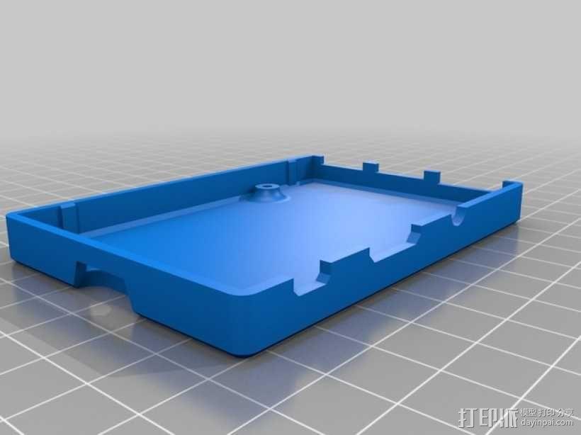 树莓派B+外壳/盒 3D模型  图3