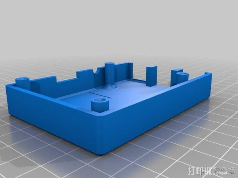 树莓派B+外壳/盒 3D模型  图4