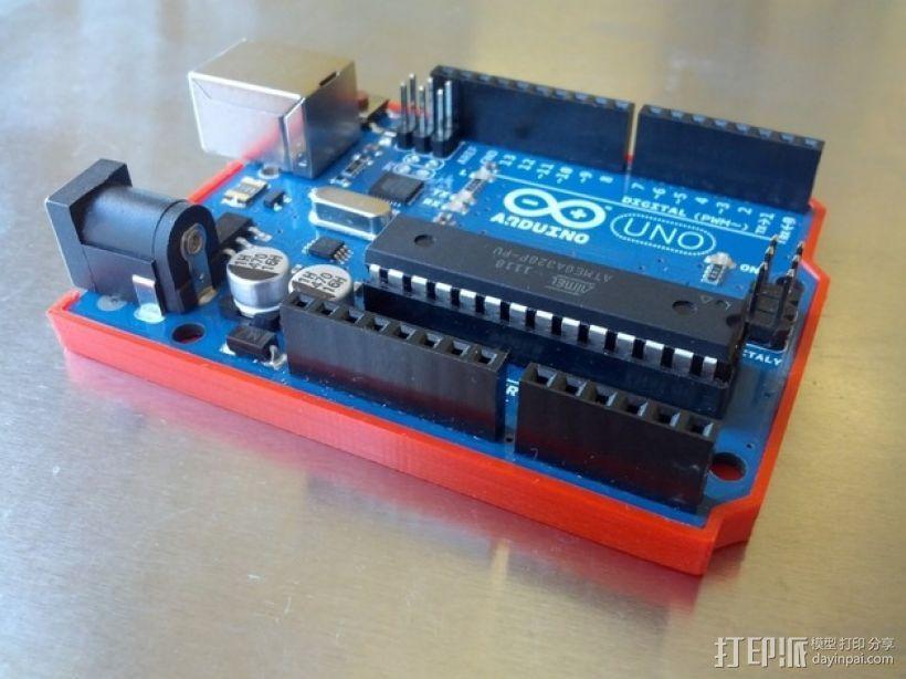 Arduino 保护壳 3D模型  图1
