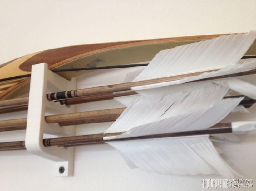 弓箭悬挂器 3D模型  图1