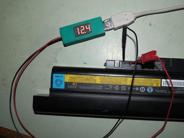 3位数字电压适配器 3D模型  图2