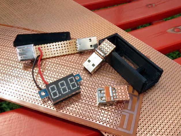 3位数字电压适配器 3D模型  图6