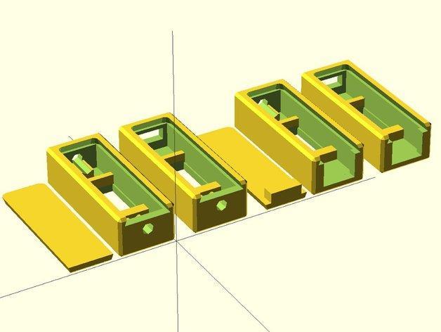 3位数字电压适配器 3D模型  图9