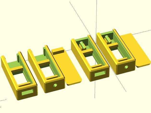 3位数字电压适配器 3D模型  图8