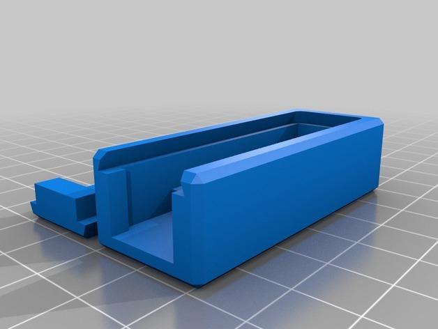 3位数字电压适配器 3D模型  图15