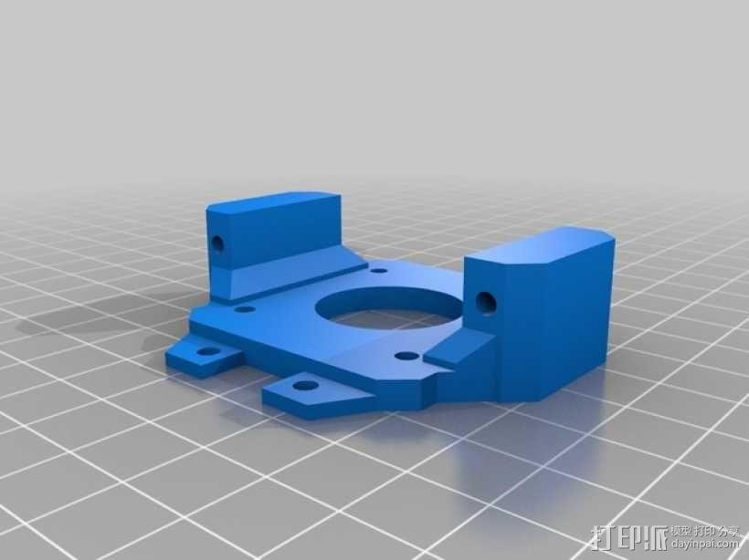 往返直线型运动机 3D模型  图3