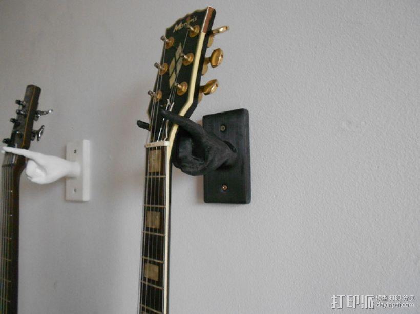 手型吉他挂钩 3D模型  图1