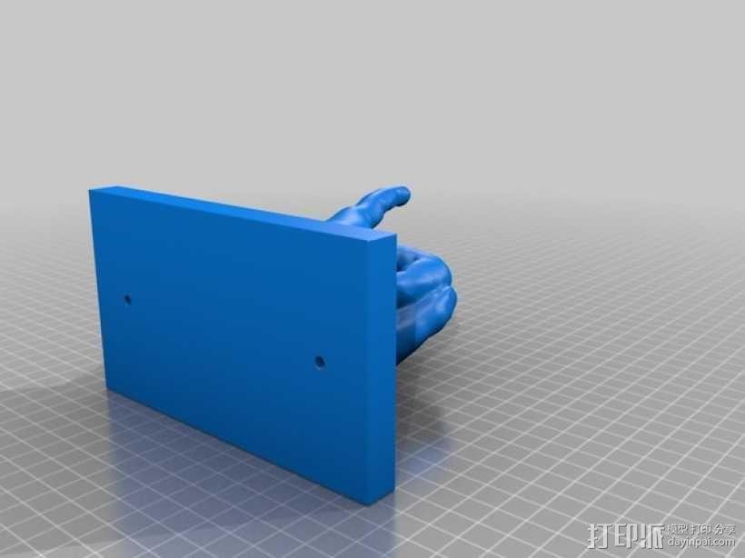 手型吉他挂钩 3D模型  图10