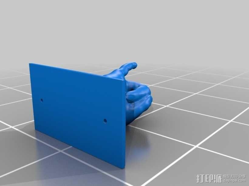 手型吉他挂钩 3D模型  图11