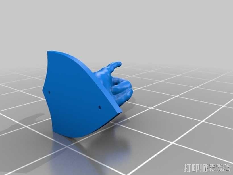 手型吉他挂钩 3D模型  图13