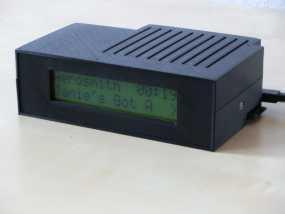 树莓派LCD 音乐播放器 3D模型