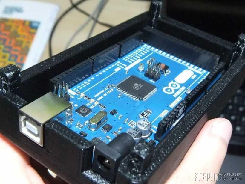 Arduino Mega 2560 rev3 外壳 3D模型  图1