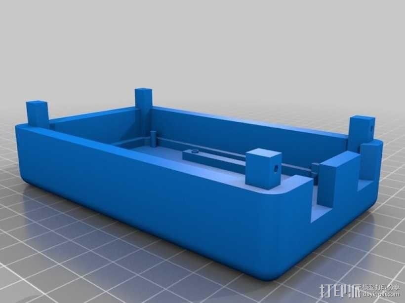 Arduino Mega 2560 rev3 外壳 3D模型  图3