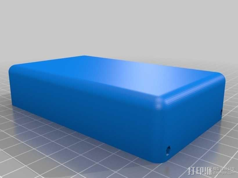 Arduino Mega 2560 rev3 外壳 3D模型  图2