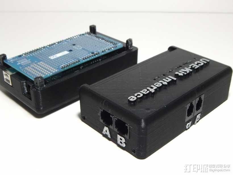 Arduino Mega 2560 rev3 外壳 3D模型  图5
