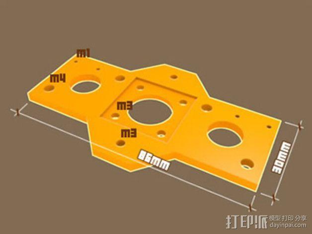 业余无线电智能触角套套 3D模型  图4