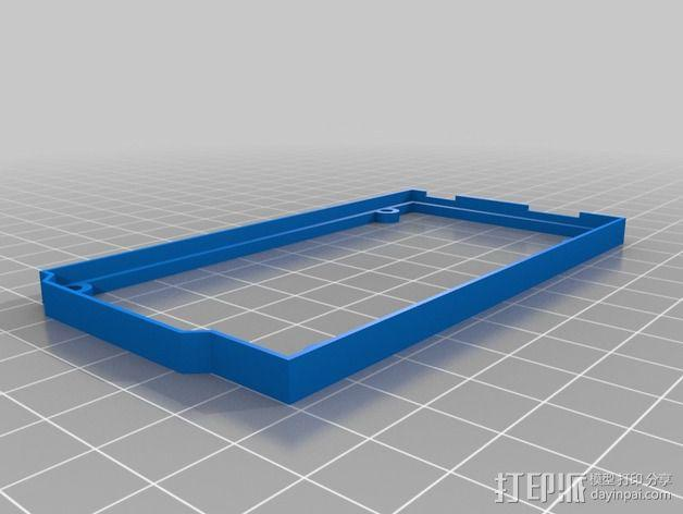 Arduino Mega 2560  保护壳 3D模型  图2