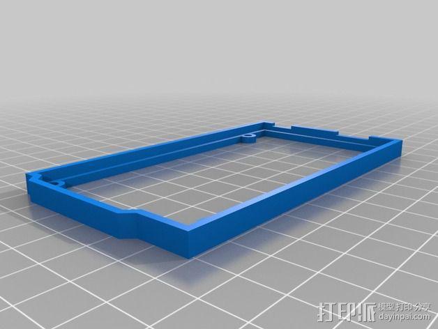 Arduino Mega 2560  保护壳 3D模型  图3