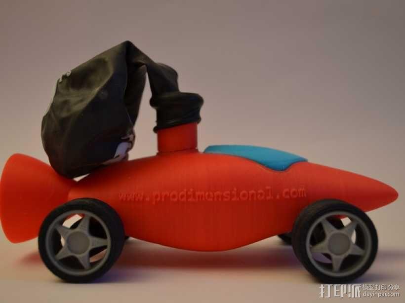 文丘里驱动的气球小车 3D模型  图7