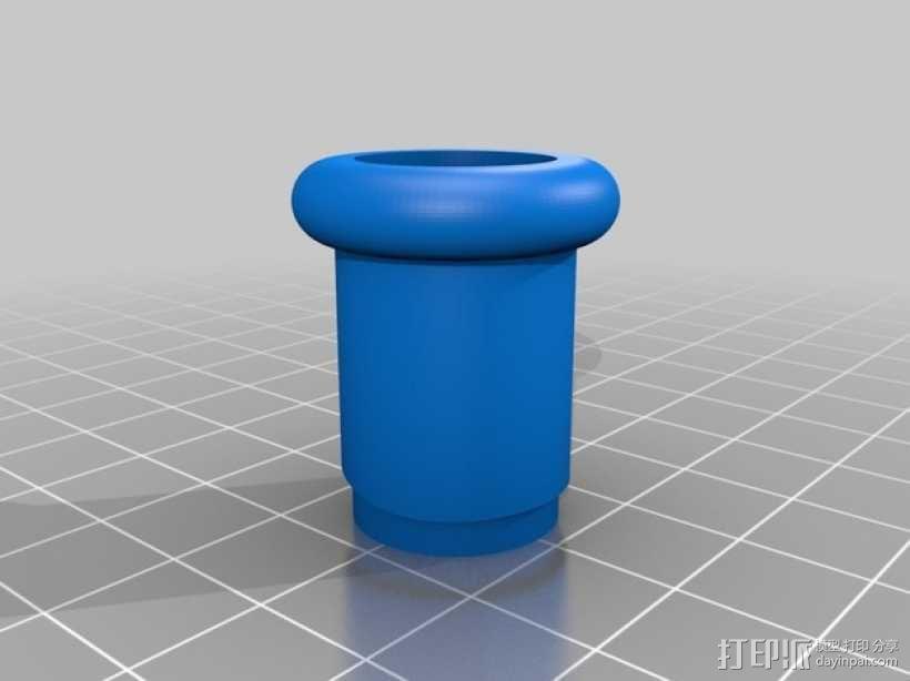 文丘里驱动的气球小车 3D模型  图11