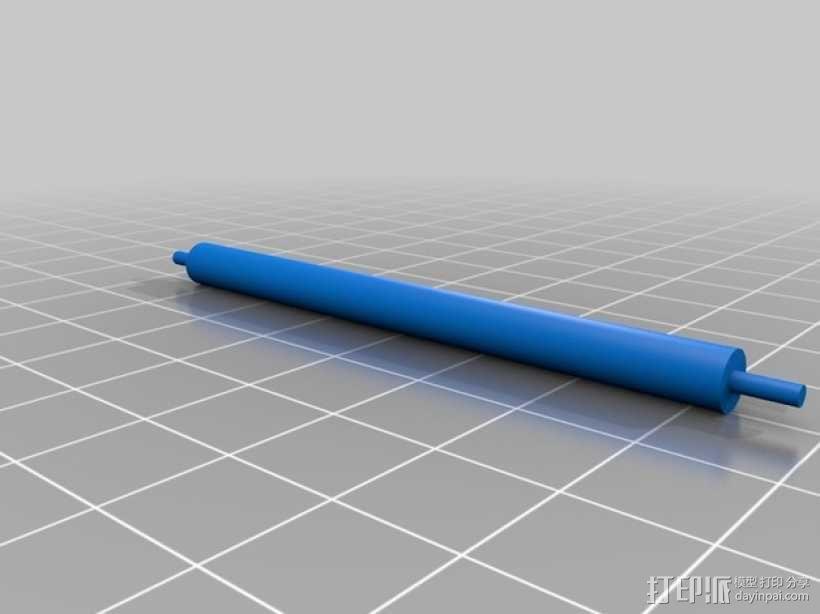 文丘里驱动的气球小车 3D模型  图14