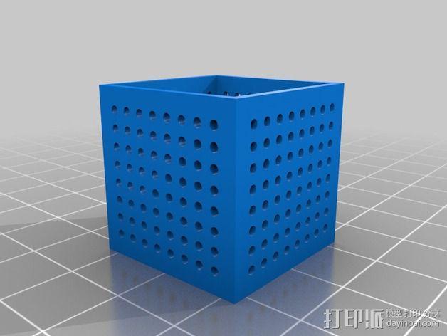 面包电路盒 3D模型  图2