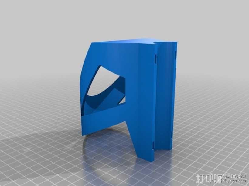 自行车水瓶固定夹 3D模型  图2