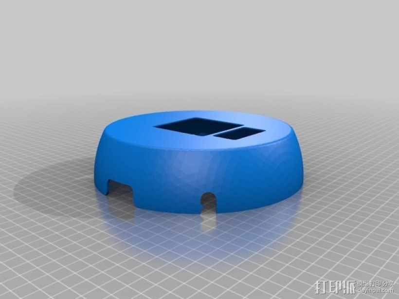 超低成本DIY四轴飞行器 3D模型  图3