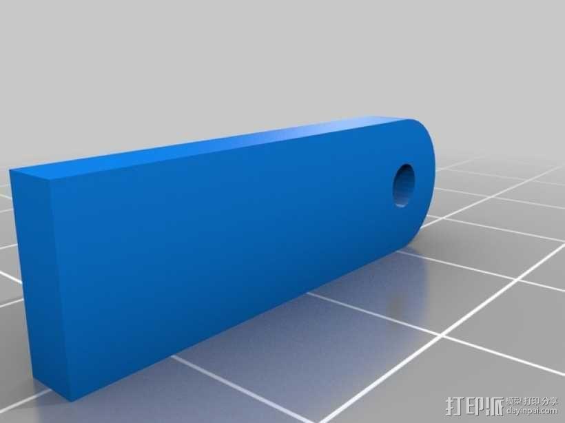 超低成本DIY四轴飞行器 3D模型  图4