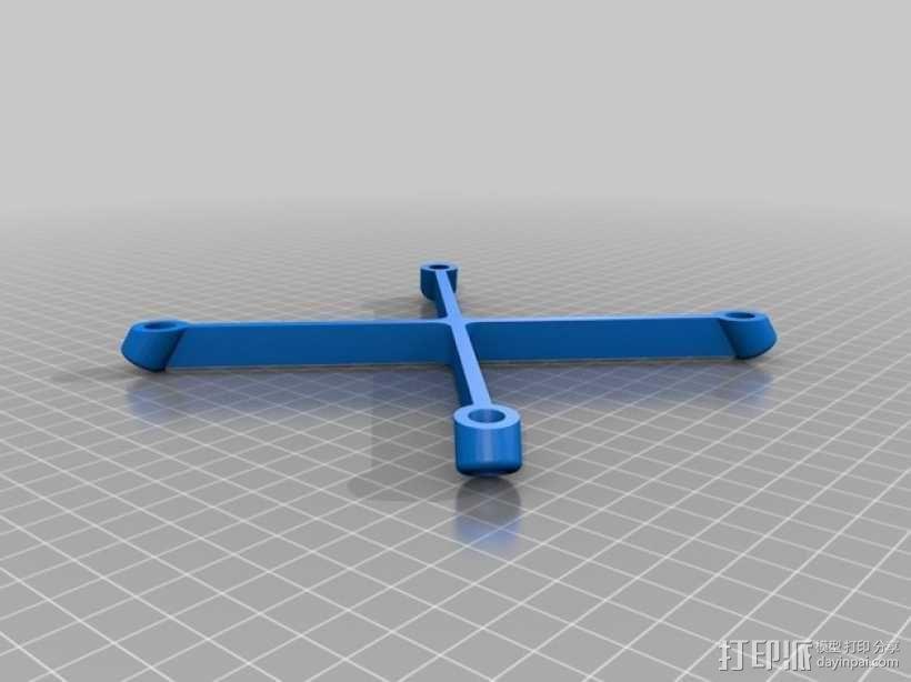 超低成本DIY四轴飞行器 3D模型  图7