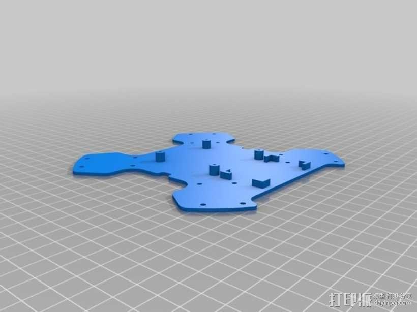 超低成本DIY四轴飞行器 3D模型  图9
