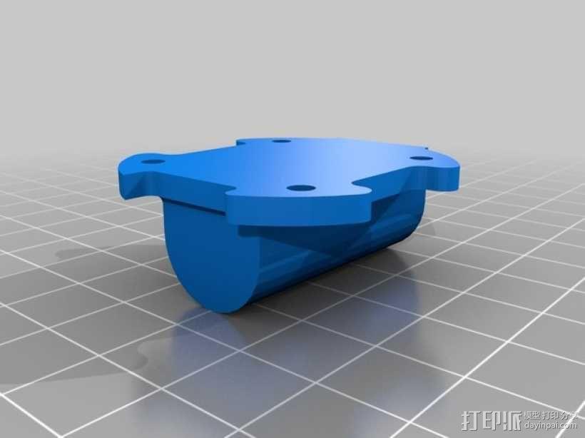 超低成本DIY四轴飞行器 3D模型  图8