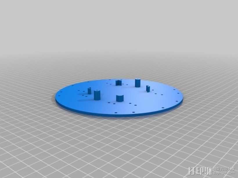超低成本DIY四轴飞行器 3D模型  图12