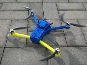 T4 四轴飞行器 Mini 315(7到8寸) 3D模型