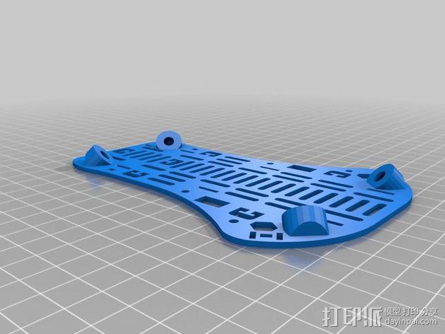T4 四轴飞行器 Mini 315(7到8寸) 3D模型  图12